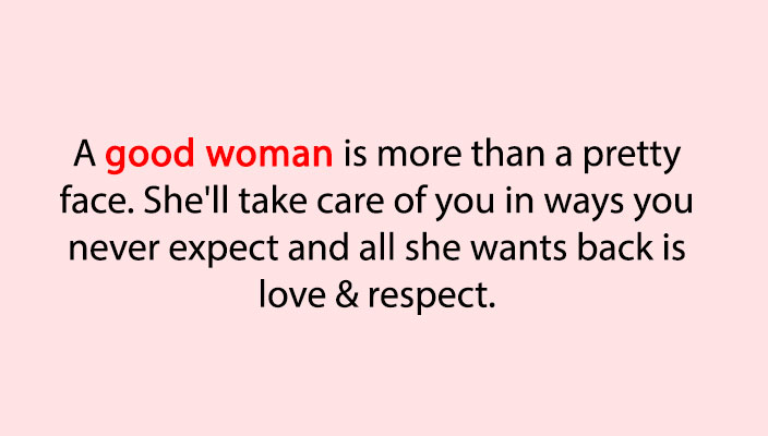 8 Clear Signs You've Found A Good Woman